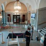 Nuevas medidas de protección en el Teatro Real en los controles de accesos